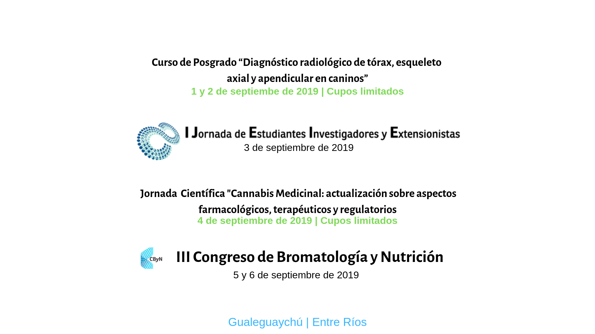 III Congreso Bromatologia y Nutricion